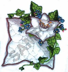 DAFFODIL APPLIQUE embroidery design