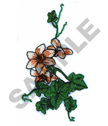 IVORY BOUQUET embroidery design