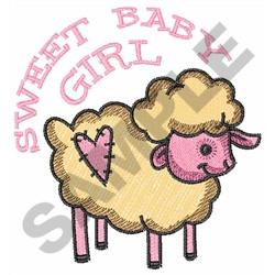 SWEET BABY GIRL embroidery design