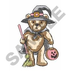 DRESSED FOR HALLOWEEN embroidery design
