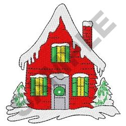 HOLIDAY HOME embroidery design