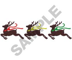Reindeer Border embroidery design
