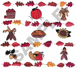 FALL MONTAGE embroidery design