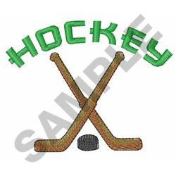 HOCKEY embroidery design