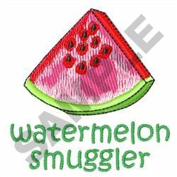 WATERMELON SMUGGLER embroidery design