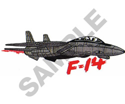 F-14 TOMCAT embroidery design