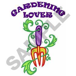 GARDENING LOVER embroidery design