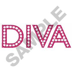DIVA embroidery design