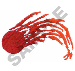 METEOR embroidery design