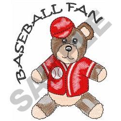 BASEBALL FAN embroidery design