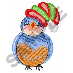 CHRISTMAS BLUEBIRD embroidery design
