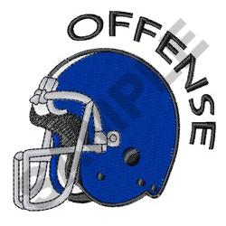 FOOTBALL OFFENSE embroidery design