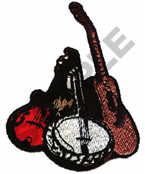 STRING MONTAGE embroidery design