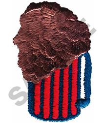 ROOT BEER MUG - SM embroidery design
