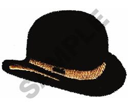 DERBY HAT embroidery design