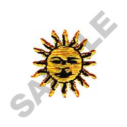 SUN - SMALL embroidery design