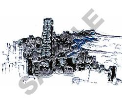 CITY SCENE FILE#07 embroidery design