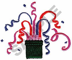CONFETTI EXPLOSION embroidery design