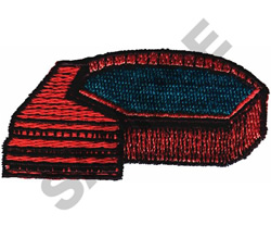 SWIMMING POOL embroidery design