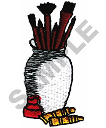 ART PAINT BRUSHES embroidery design