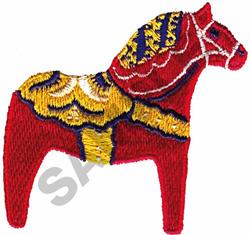 SWEDISH HORSE embroidery design