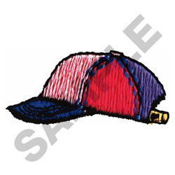 CHILDS BASEBALL CAP embroidery design