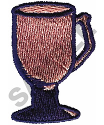 CAFE O LAIT CUP embroidery design