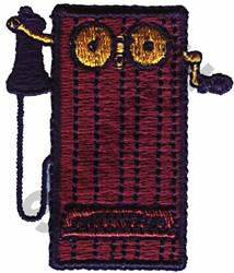 CRANK PHONE embroidery design