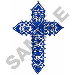 LACEWORK CROSS embroidery design