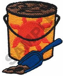 PAIL & SHOVEL embroidery design