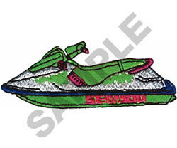 SEADOO embroidery design