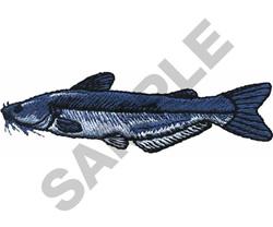 BLUE CATFISH embroidery design