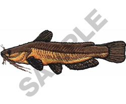 YELLOW BULLHEAD embroidery design