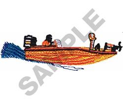 BASSMASTER embroidery design