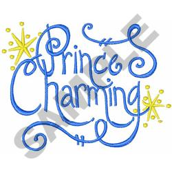 PRINCE CHARMING embroidery design