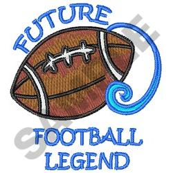 Future Football Legend embroidery design