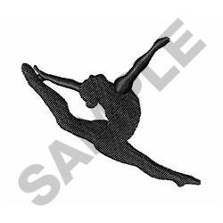 GYMNAST OR DANCER embroidery design