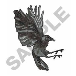 CROW ONLY embroidery design