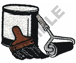 PAINTING SUPPLIES embroidery design