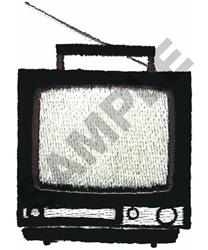 PORTABLE TV embroidery design