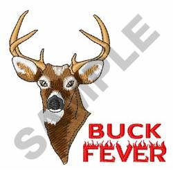 BUCK FEVER embroidery design