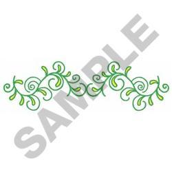 VINES BORDER embroidery design