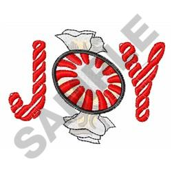 PEPPERMINT CANDY JOY embroidery design