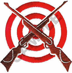 TARGET SHOOTING embroidery design