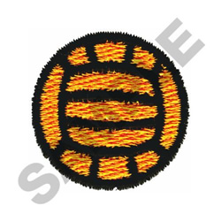 VOLLEYBALL embroidery design