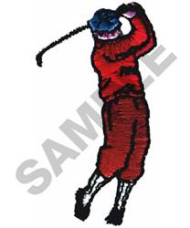 FOLLOW THROUGH embroidery design