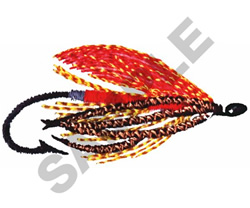 FISHING FLY embroidery design