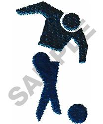 SOCCER SYMBOL embroidery design