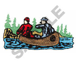 CANOERS embroidery design