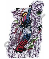 ROCK CLIMBING embroidery design